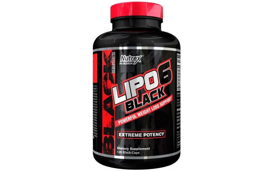 Nutrex Lipo 6 Black Extreme Potency