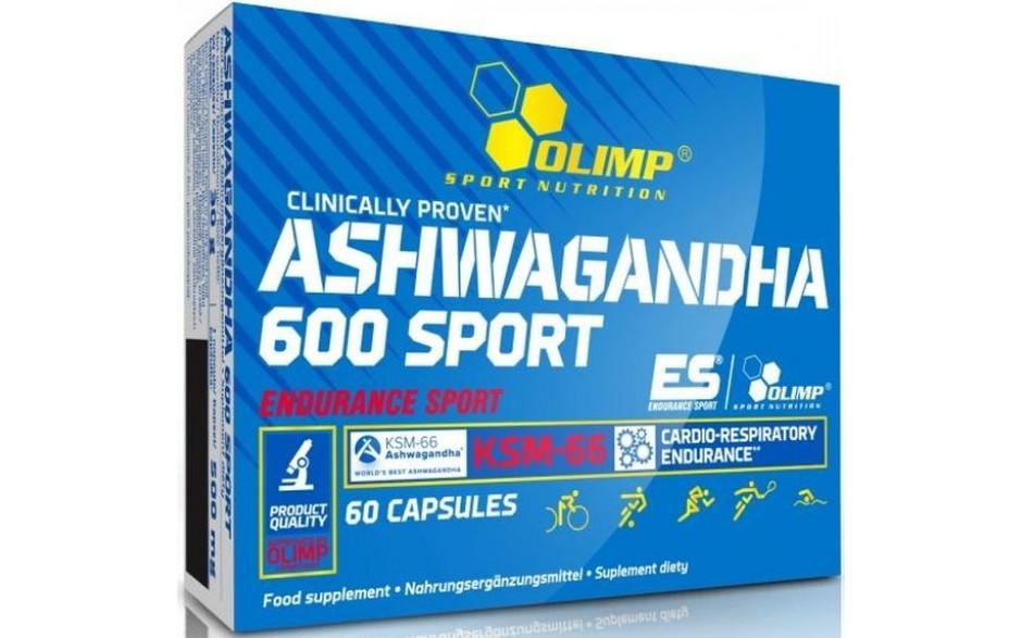 Olimp Ashwagandha 600 Sport - 60 Kapseln