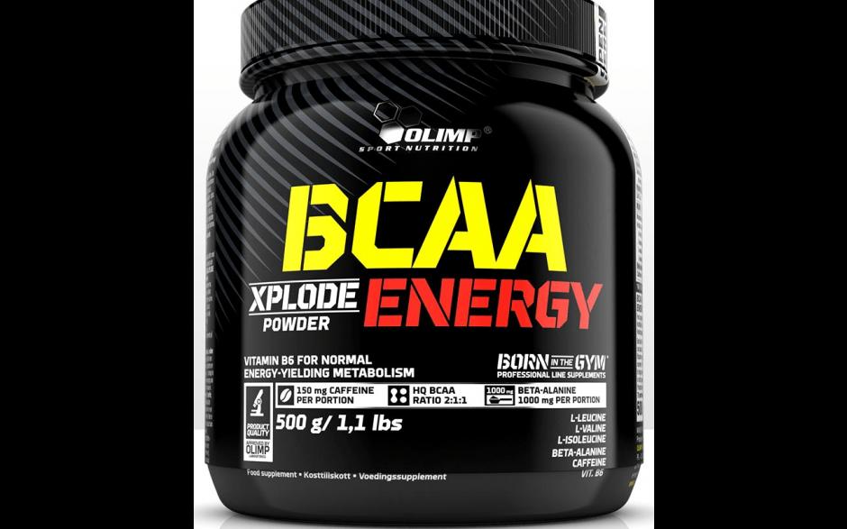 Olimp BCAA Xplode ENERGY - 500g Dose