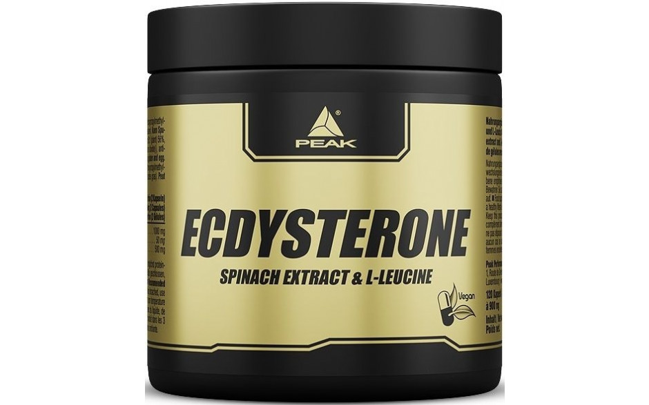 Peak Ecdysterone - 120 Kapseln á 900mg