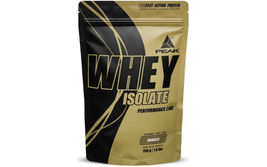 Peak Whey Protein Isolat - 750g Beutel