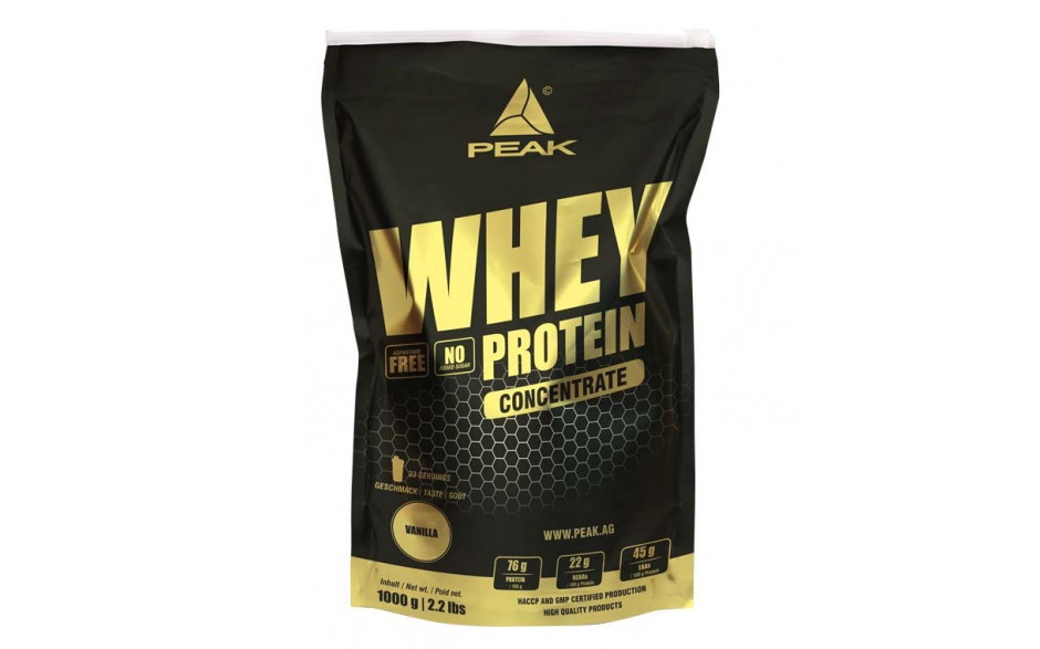 Peak Whey Protein Concentrate - 1000g-Pistachio