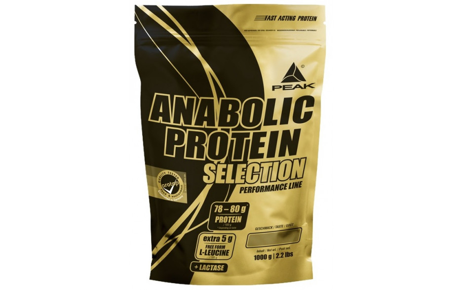 Peak Anabolic Protein Selection - 1000g Beutel