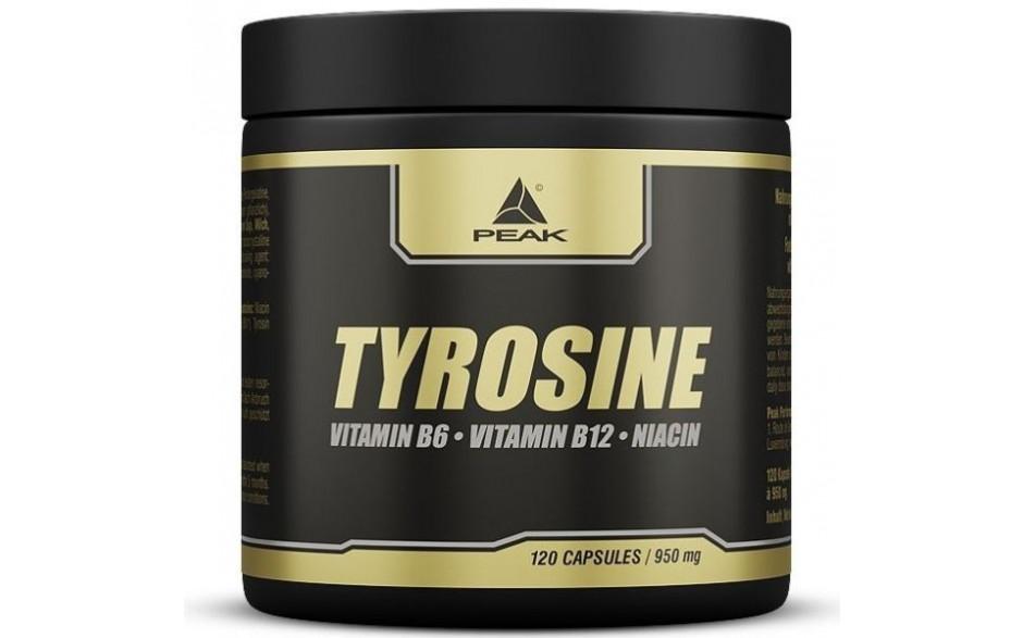Peak Tyrosine - 120 Kapseln á 950mg