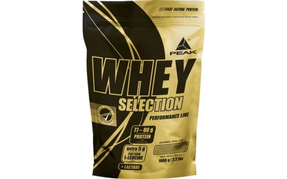 Peak Whey Selection - 1000g Beutel