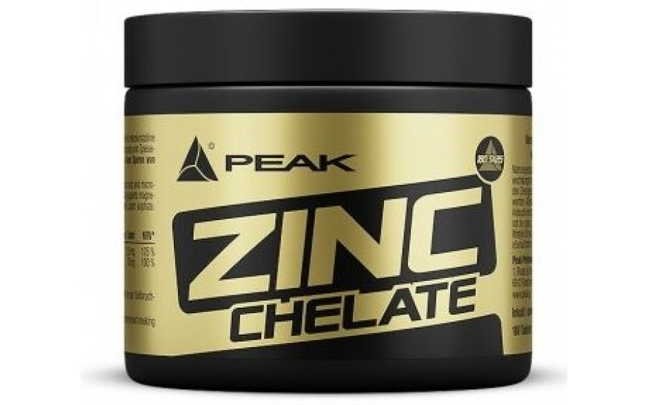 Peak Zinc Chelate - 180 Tabletten