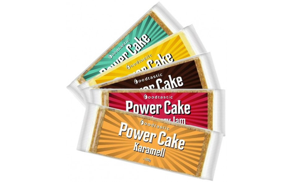 Foodtastic Power Cake - 120g Riegel