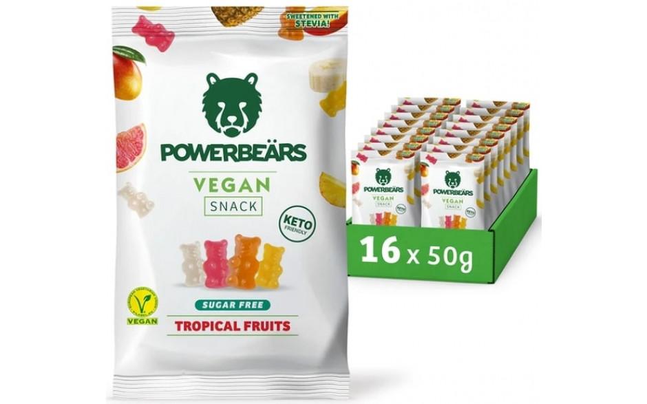 powerbeaers-vegan-snack-tropical-sugar-free-16X50g