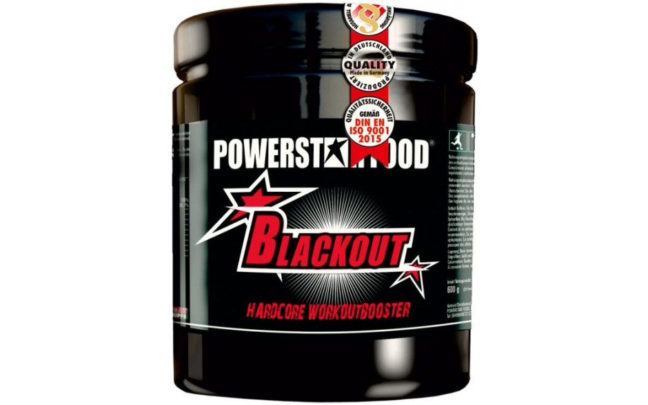 Powerstar BLACKOUT Hardcore Booster - 600g
