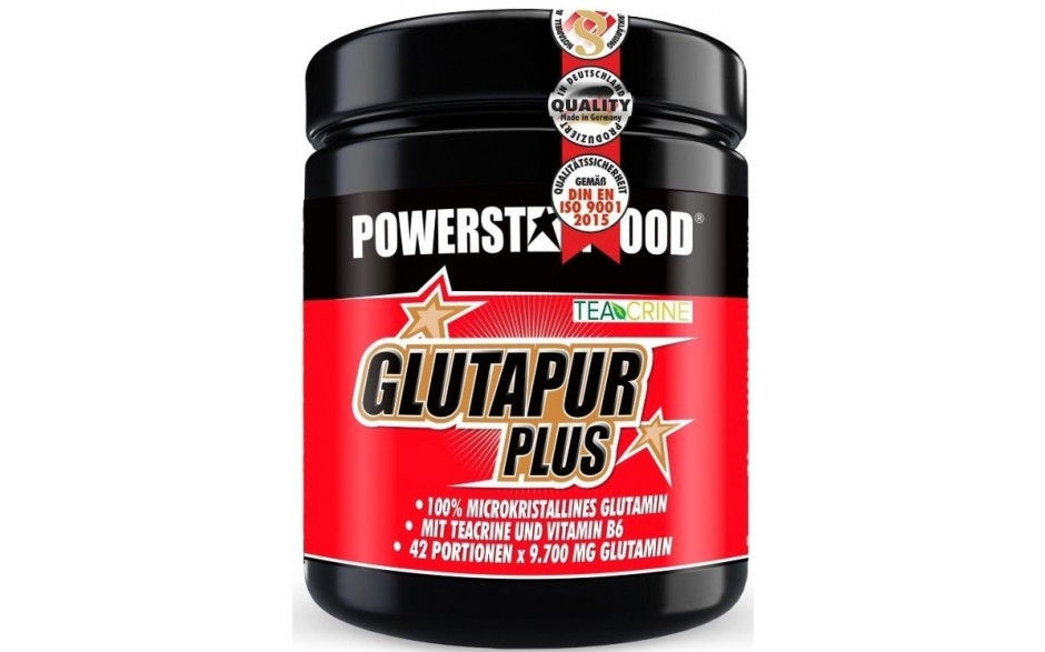 Powerstar Food L-Glutapur plus - 500g Dose