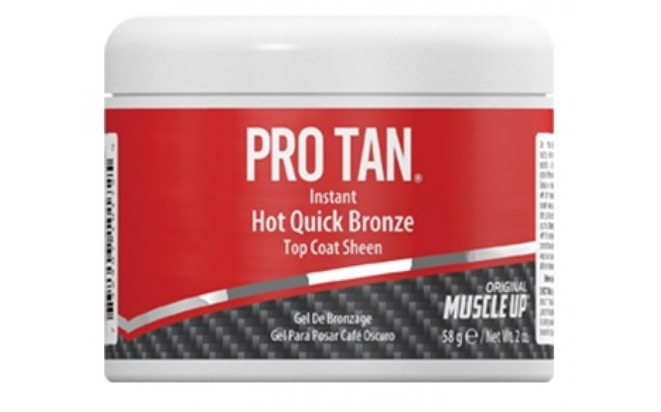 Pro Tan Instant Hot Quick Bronze - Top Coat Sheen 58g