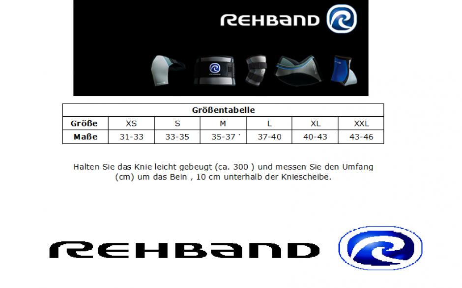 Rehband - RX Kniebandage 5mm camo