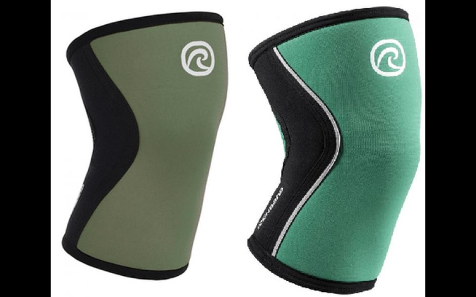 Rehband RX Kniebandage 5mm grün