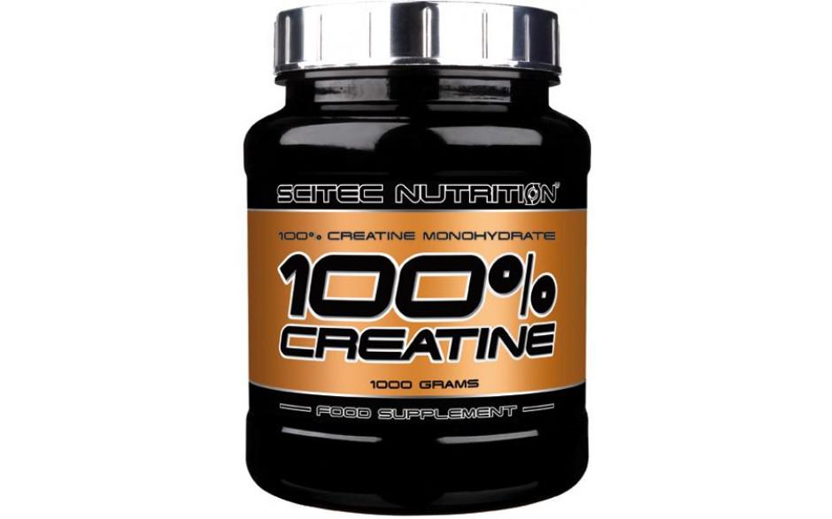 Scitec Nutrition 100% Creatin Monohydrat - 1kg Dose