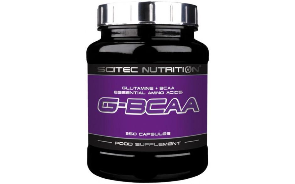Scitec Nutrition G-BCAAs - 250 Kapseln