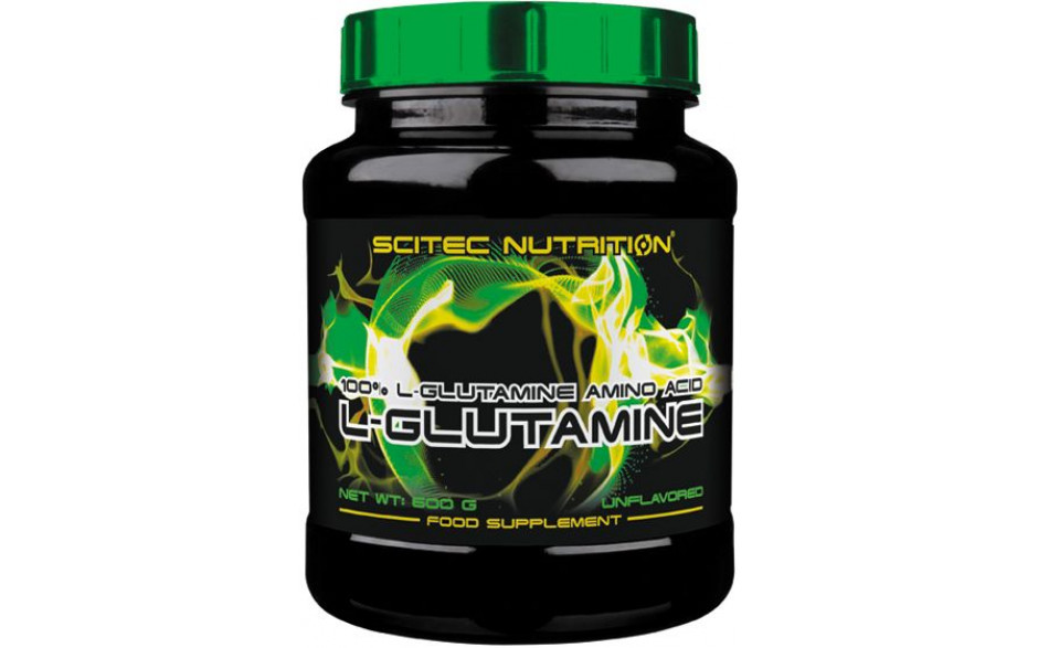 Scitec 100% Pure Tested L-Glutamin - 600g