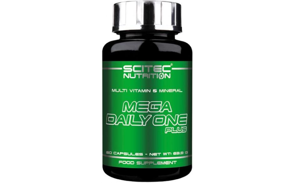 Scitec Nutrition Mega Daily One Plus - 60 Kapseln