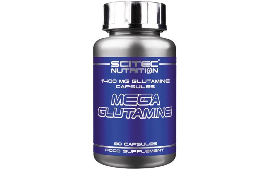 Scitec Mega Glutamin Caps - 90 Kapseln