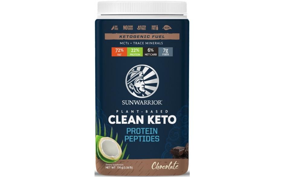 Sunwarrior Clean Keto Protein Peptides - 720 g