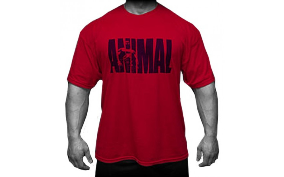 Universal Nutrition Animal Iconic Shirt  - red