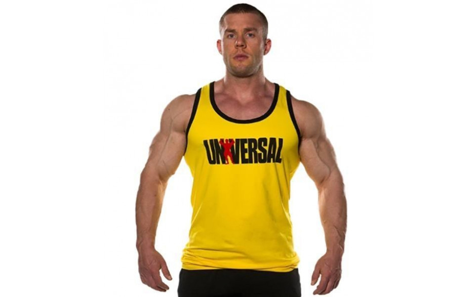 Universal Nutrition Tank Top - Yellow
