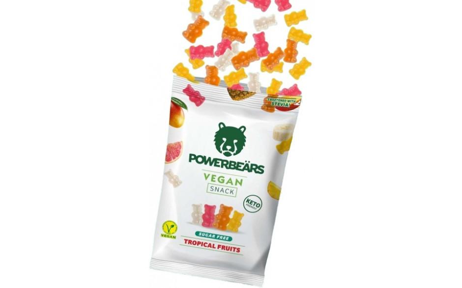 Powerbeärs Vegan Snack - 16x 50 g