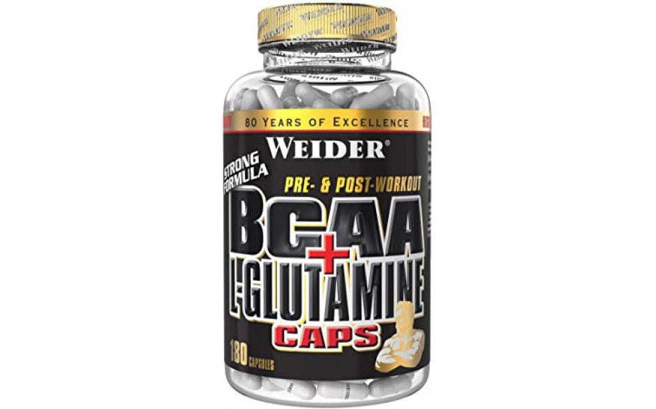 Weider BCAA + Glutamine - 180 Kapseln