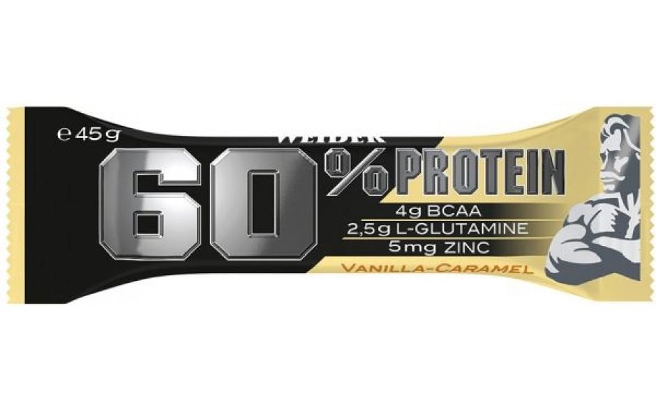 Weider 60% Protein Bar - 45g Riegel