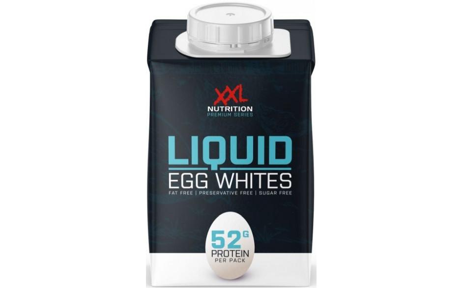 XXL Nutrition 100% Egg Whites - flüssiges Eiklar - 483 ml