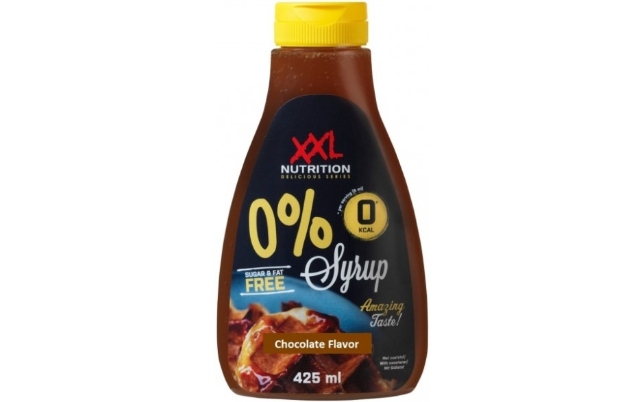 XXL Nutrition 0% Sirup - Chocolate Flavor