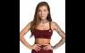 Gym Glamour Seamless Sports Bra - Burgund-Melange