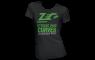 ZEC+ Damen T-Shirt STRONG AND CURVES schwarz