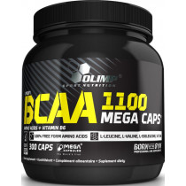 Olimp BCAA Mega Caps - 300 Kapseln