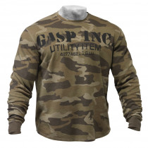GASP - Thermal Gym Sweater - camoprint