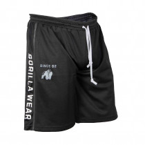 Gorilla Wear Functional Mesh Short - black white