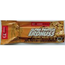 Alpha Aktivnahrung Alpha Protein Erdnuss - 50g Riegel