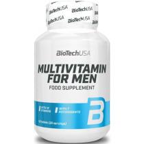 BiotechUSA Multivitamin for Men - 60 Tabletten