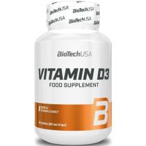 BioTechUSA Vitamin D3 - 60 Tabletten