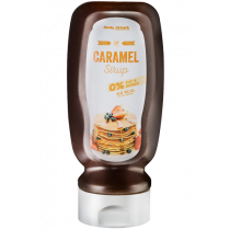 Body Attack Caramel Sirup - 320ml Flasche