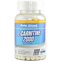 Body Attack L-Carnitin 2000 - 100 Kapseln