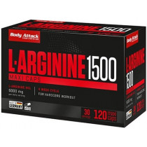 Body Attack L-Arginine 1500 - 120 Maxi Caps