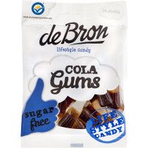 De Bron Low Carb Cola Gums - 100g Beutel