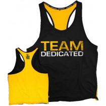 Dedicated Nutrition Stringer Team Dedicated – Yellow Black