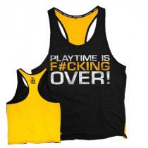Dedicated Nutrition Stringer Playtime is F#cking Over - Yellow Black