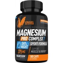 Engel Nutrition Magnesium Pro Complex 7 |Sport Formula - 180 Kapseln