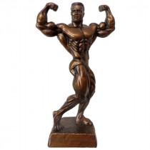 Bodybuilding Figur Man - Double Bizeps II 34 cm