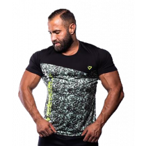 Fitnessvictim Men Camou Shirt