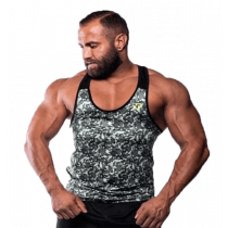 Fitnessvictim Men Camou Tank