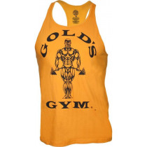 Golds Gym Classic Stringer Tank Top - gold