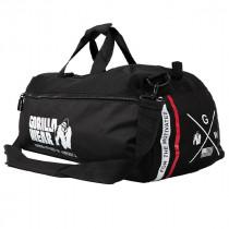 Gorilla Wear Norris Hybrid Gym Bag – Schwarz